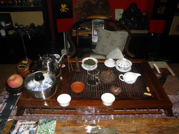 Малиндао.Чайная