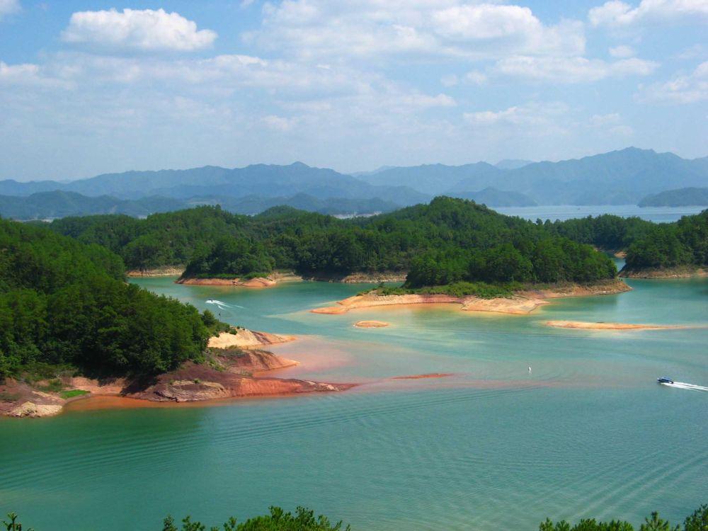 Острова в Китае, рядом с Ханчжоу
