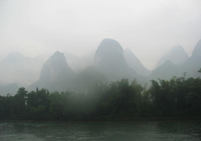 Туман в Гуйлинь