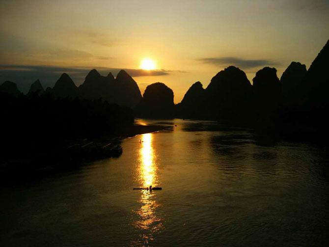 Закат над Лицзян