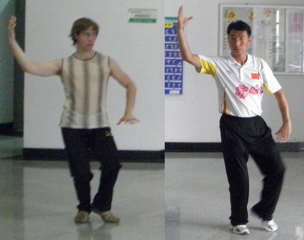 Обучение тайцзицюань в Тянзине