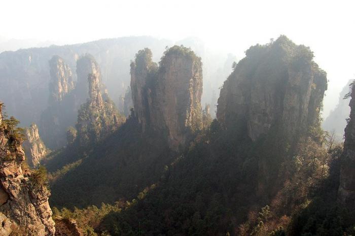 Именно эти горы стали прототипом парящих гор в Аватаре