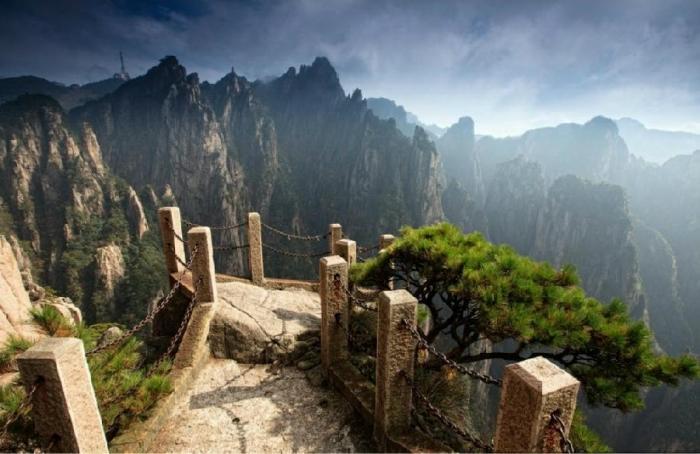 Переходы по горам Хуаншань