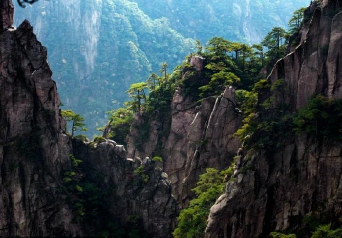 Ряды гор Хуаншань
