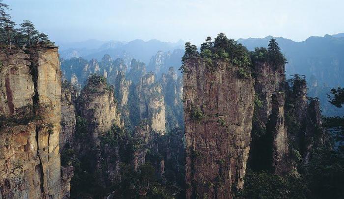 Туманные горизонты Хуаншань